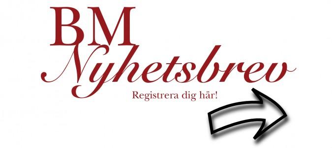 nyhetsbrev registrering